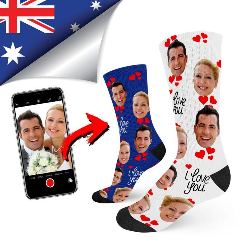 b0b9461da4a50 Custom Socks | Custom Photo Socks | Australia